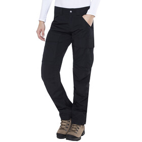 Lundhags Authentic lange broek Dames regular zwart